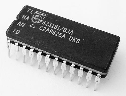 82S181/BJA 8K-bit TTL Bipolar PROM IC Philips