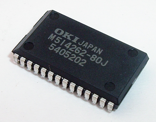 MSM514262-80JSR1 1-MBit CMOS Multiport DRAM IC Oki Semiconductor