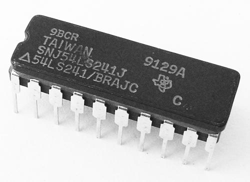 SN54LS241J 54LS241/BRAJC Octal Buffer Line Driver IC Texas Instruments
