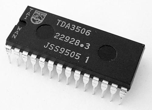 TDA3506 Video Control Combination IC Philips
