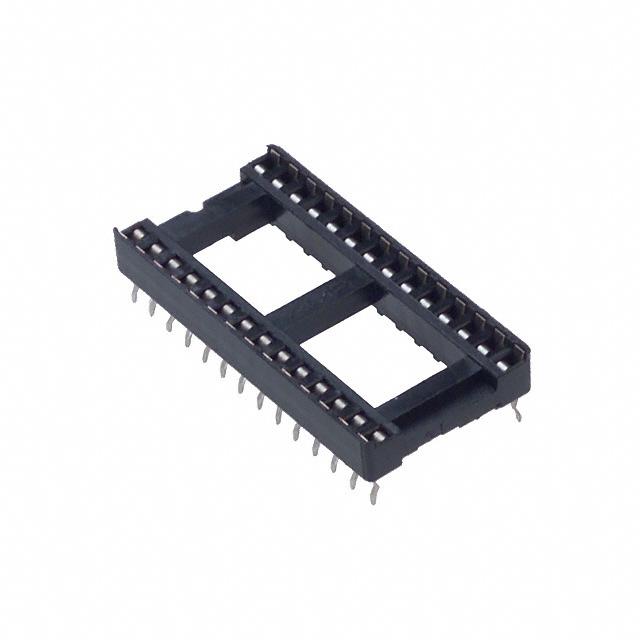 28 Pin IC Socket Dual Wipe Amp 2-641615-2