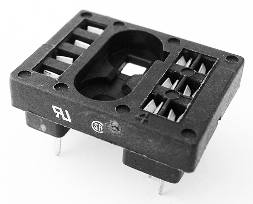 10A Relay Socket R-10 Series Tyco P and B 27E212