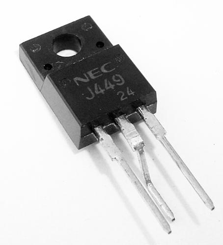 2SJ449 6A 250V MosFET P-Channel Transistor NEC