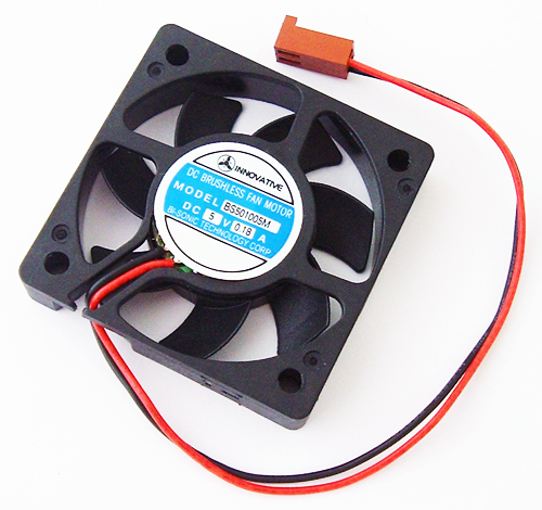 5V 0.18A Brushless DC Fan Innovative Industrial Co Ltd BS501005M