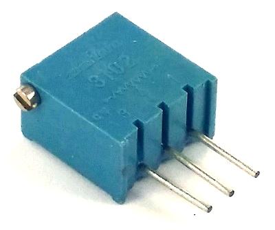 2K ohm Variable Resistor Trimpot Murata POT3102X-1-202