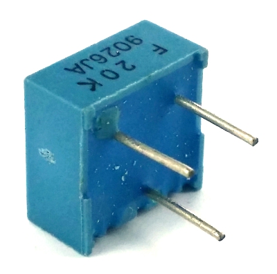 20K ohm Trimpot Variable Resistor Murata POT3104F-1-203