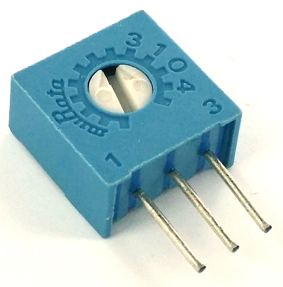 1K ohm Trimpot Variable Resistor POT3104W-1-102 3104W-1-102