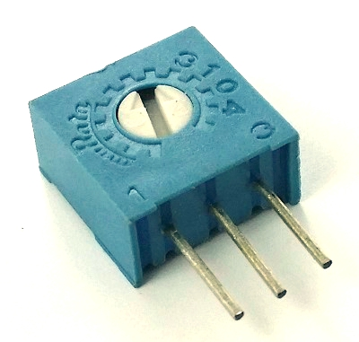 200K ohm Trimpot Variable Resistor Murata POT3104W-1-204