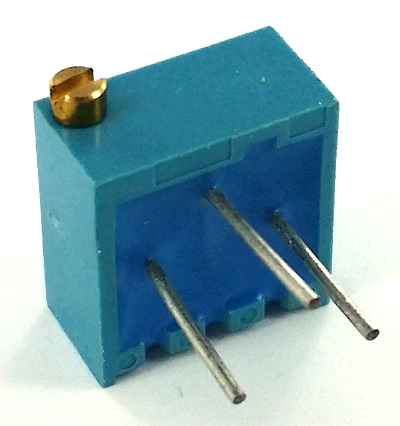 100 ohm Trimpot Variable Resistor Murata POT3106P-1-101