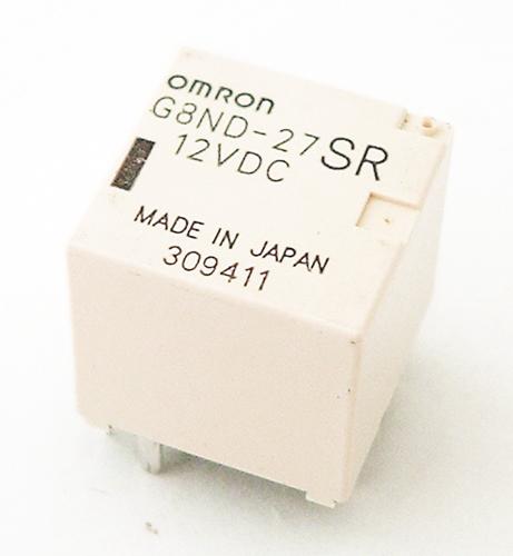 G8ND-27SR 12VDC Ultra Miniature Relay Omron