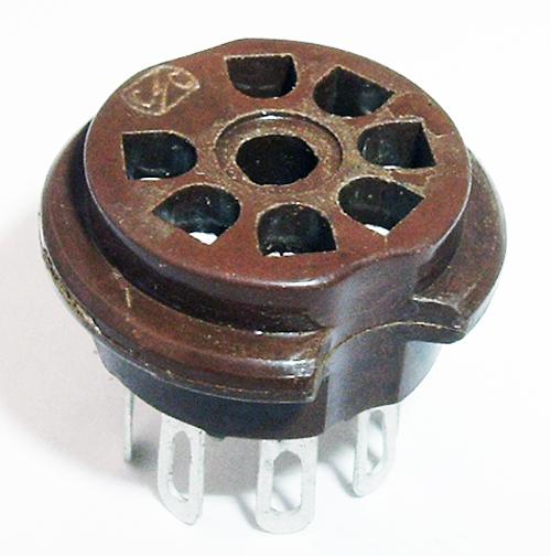 7 Pin Tube Socket
