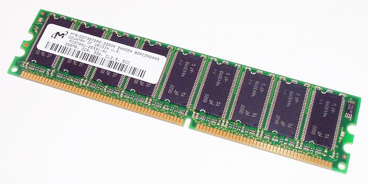 MT9VDDT3272AG-335G4 DDR SDRAM Memory Micron