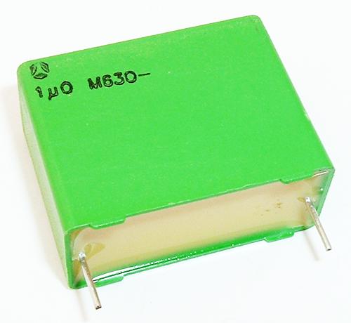 1.0uF 630V Polyester Box Capacitor Thomson BG274K0105M