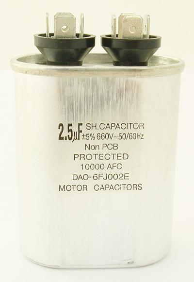 2.5uF 660V Motor Run SH Capacitor DAO-6FJ002E