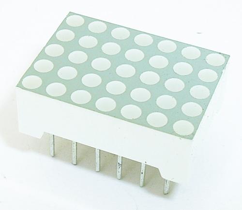 Rectangular LED Display Dot Matrix 5 x 7 Green Agilent HDSP-701G