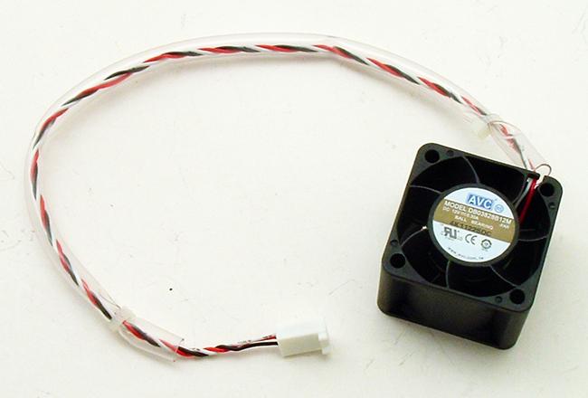 12V .30A DC Axial Server Cooling Fan 38mm AVC DB03828B12M