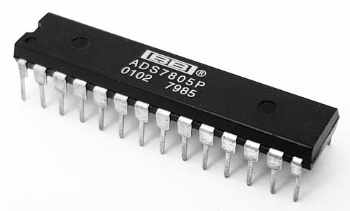 ADS7805P Integrated Circuit CMOS AD Converter 28 Pin