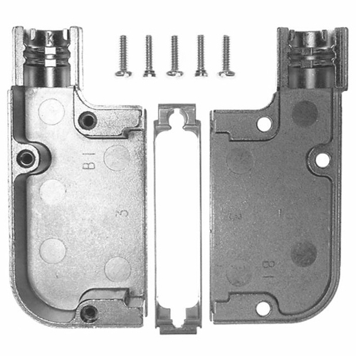 745653-3 Backshell Cable Clamp Connector 90 Degree Amp