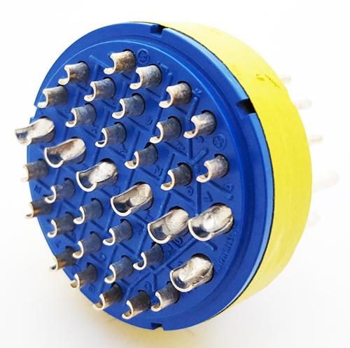 97-32-7P 35 Position Circular Connector Insert Amphenol