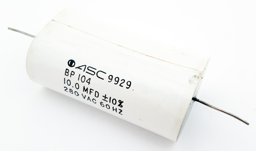 10uF 10 uF 280VAC Axial Film Capacitors BP104 10mF