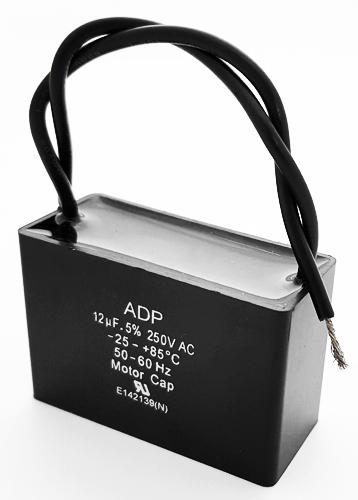 12uF 250 VAC Motor Run Capacitor Metallized Polypropylene ADP250M126J