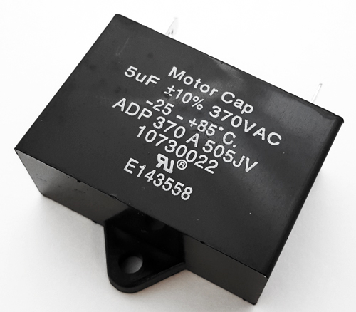 5uF 370VAC Motor Run Capacitor Metallized Polypropylene ADP370A505J