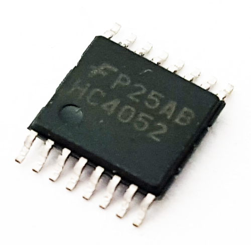 74HC4052 MM74HC4052MTCX Multiplexer IC Fairchild