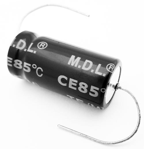 22uF 22 uF 450V Axial Electrolytic Capacitors