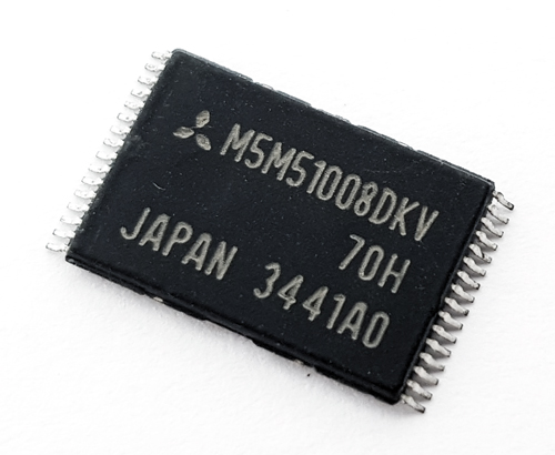 M5M51008DKV-70H CMOS Static RAM IC 1048576-Bit Mitsubishi