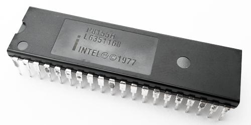 P8155H Programmable Static HMOS RAM 2048-Bit IC Intel