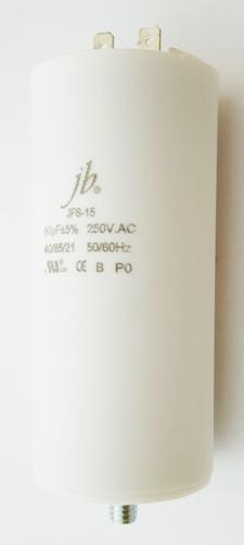 60uF 250VAC Motor Run Capacitor JB Capacitors JFS-15 Series