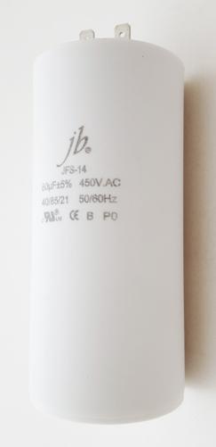 80uF 450VAC Motor Run Capacitor JB Capacitors JFS-14 Series
