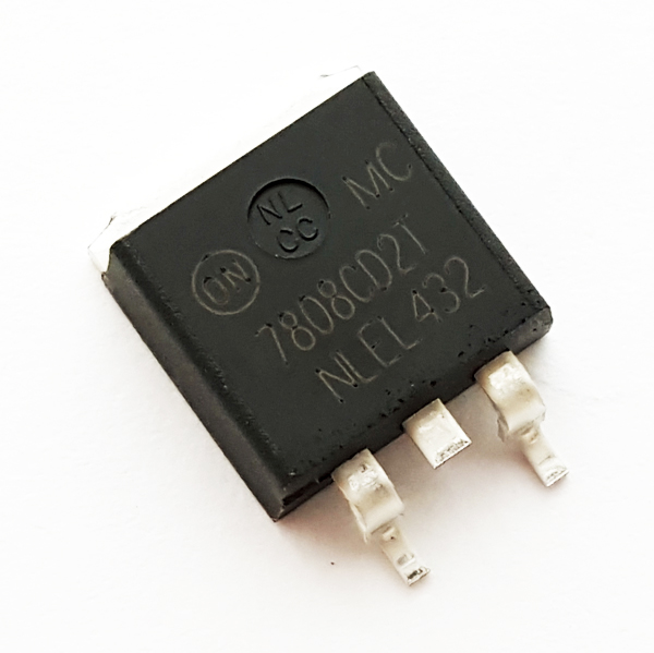 MC7808CD2TR4 1A 8V Linear Voltage Regulator ON Semiconductor
