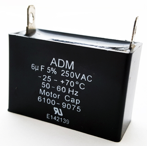 6uF 6.0 uF 250VAC Motor Capacitor ADM250A605J