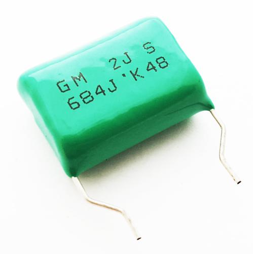 .68uF 630V Radial Polyester Film Capacitor SKE FGSM162630VDC684JG30