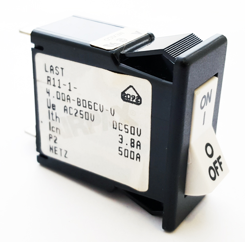 R11-1-4.00A-B06CV-V 4A 250VAC Magnetic Circuit Breaker Airpax