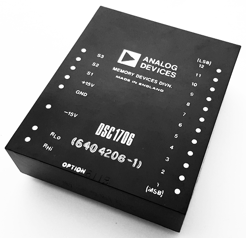 DSC1706 12-Bit Digital-to-Synchro Converter IC Analog Devices