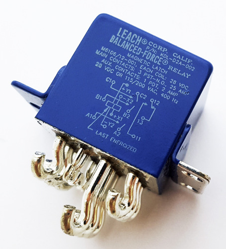 25A 28V Latching Balanced Force Relay KDL-D2A-002 Leach