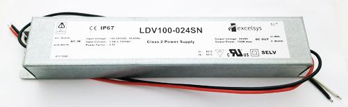 LDV100-024SN 24V 3.830A 100W AC-DC Converter LED Power Supply Excelsys