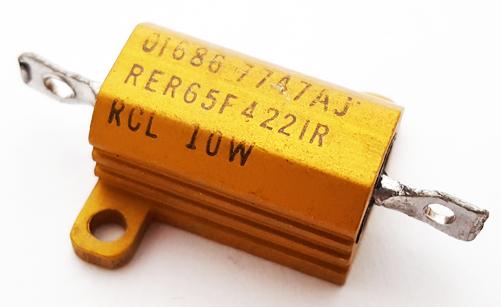 10W 4.22K Ohm Wirewound Resistor Military RCL RER65F4221R