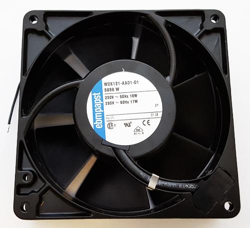 230 VAC 17W AC Axial Compact Fan EBM-Papst W2K121-AA01-01 5958W
