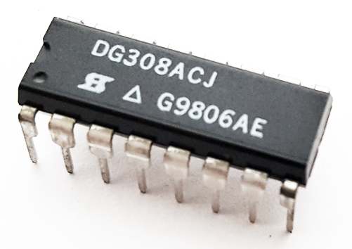 DG308ACJ CMOS Quad Monolithic Analog Switch IC Siliconix