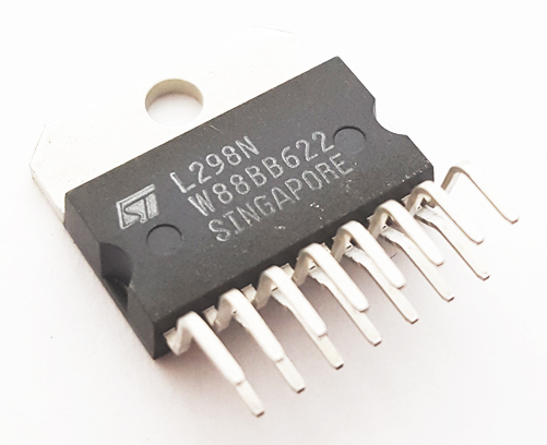 L298N Dual Full Bridge Driver IC ST Microelectronics
