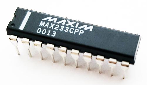 MAX233CPP 5V Tranceiver IC Multi Channel RS-232 Maxim