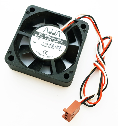 12V .1A 100mA Computer Cooler Fan ADDA AD0512HB-D73