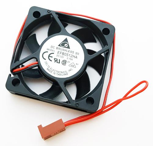12V 0.15A Fan Brushless Delta EFB0512HA