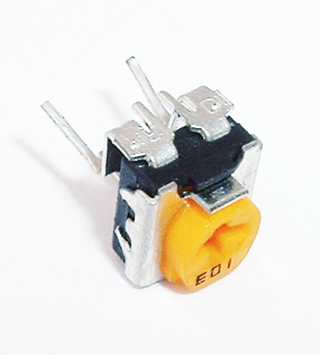 10K Ohm 0.1W Carbon Composition Trimmer Potentiometer Panasonic EVND8AA03B14