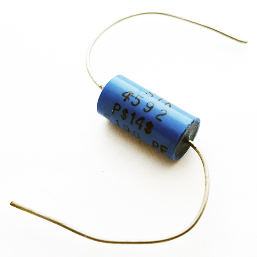 6190pF 100V 1% Axial Polypropylene Film Capacitor STK Electronics PS14S