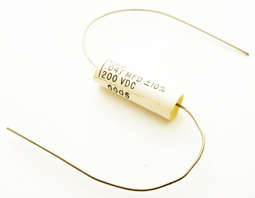 0.047uF 0.047 uF 200V 10% Axial Polyester Film Capacitor ASC 663