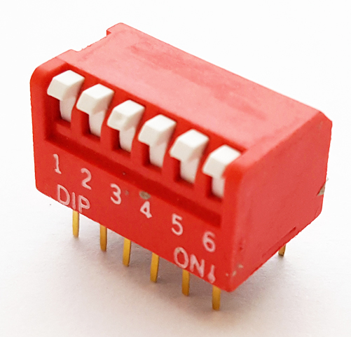 6 Position Dip Switch Grayhill